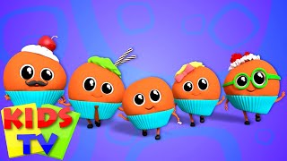 Muffin Finger Family | Nursery Rhymes | Kids Videos | Baby songs