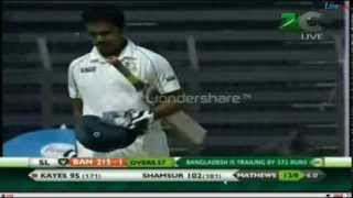 imrul kayes and samsur rahman first test 100