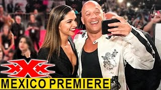 Deepika Padukone At xXx: The Return of Xander Cage Mexico Premiere | RED CARPET | XXX Reactivado
