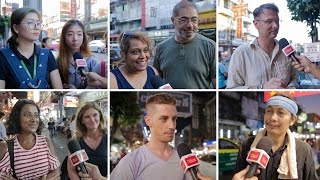 Bangkok Tourists and Residents Reaction about Street Food Vendors Banning