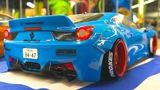 AMAZING RC DRIFT CAR RACE MODELS IN ACTION / Fair Erfurt Germany 2017