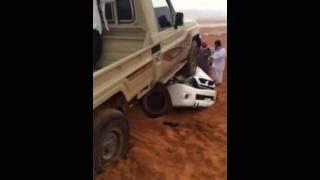 أنباء ـ مصرع شاب في حادث تطعيس بنفود الثمامة بالرياض