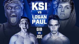 KSI VS LOGAN PAUL BOXING MATCH!!! (Fighting On The Undercard)