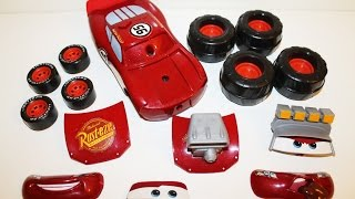 Buildable Lightning McQueen Gear up and Go Monster Truck