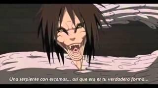 Sasuke vs Orochimaru pelea completa