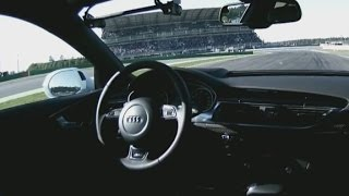 Watch car drive itself at 150 mph