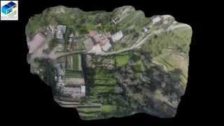 Modello 3D da rilievo aereo S.A.P.R. Drone (Messina)