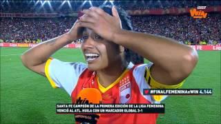 Liana Salazar: el sueño se hizo realidad, nunca lo olvidaré   Win Sports