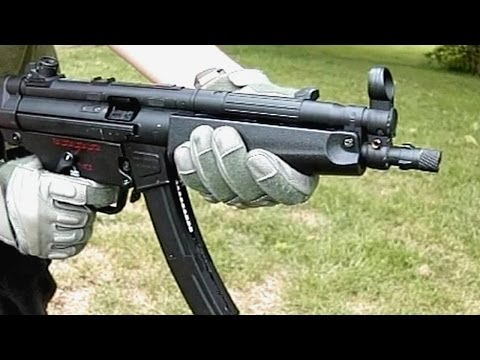 Airsoft Bell ACM MP5 GBB Demonstration