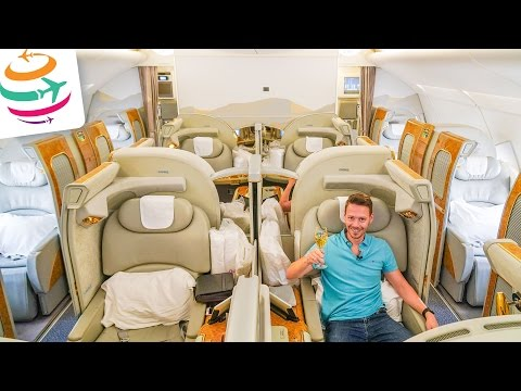 Xxx Mp4 EMIRATES First Class A380 The Pure Luxury In The Sky GlobalTraveler TV 3gp Sex