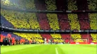نشيد نادي برشلونة بصوت الجمهور
