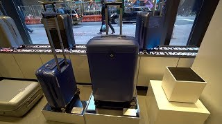 Smart Luggage Launch Event in NYC! Bluesmart Series 2 Cabin 22 Unboxing