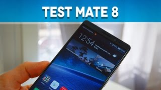 Test Huawei Mate 8 - Test Mobile
