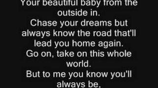 Lyrics Tim McGraw's My Little Girl-Pictures at the end!