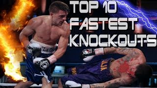 Top 10 Fastest Knockouts