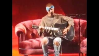 Justin Bieber - Cry Me A River Cover (Barclays Center, New York 5-5-16)
