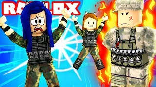 ARMY TRAINING OBBY IN ROBLOX!