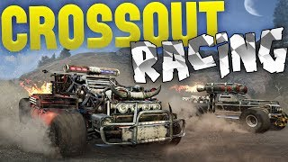 Crossout - Building The Best Race Car - Racing Game Mode - Crossout Gameplay Highlights