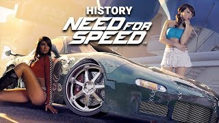 History of NEED FOR SPEED (1994-2015)
