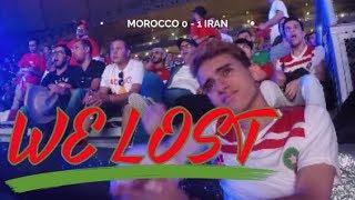 Morocco vs Iran Reaction - World Cup 18 (saddest day of my life)