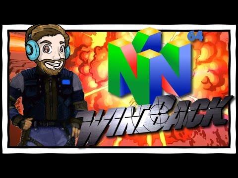 YUB CAN'T AIM! Winback N64 Gameplay
