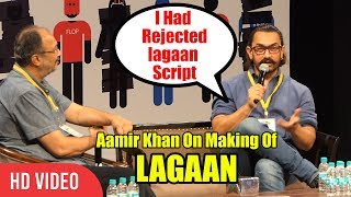MAKING Of Lagaan   I Had Rejected Lagaan Script When Heard First Time