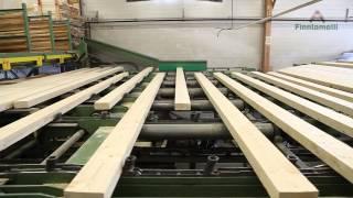 Finnlamelli - VIDEO: Finnlamelli laminated logs