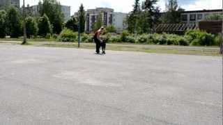 Yuna in trening))