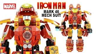 Awesome Iron Man Mark 46 Mechanical Suit LEGO KnockOff Building Set