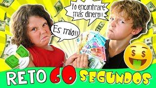 🤑 60 SEGUNDOS para encontrar 100€ en nuestra NUEVA casa 🏠 Retos de niños