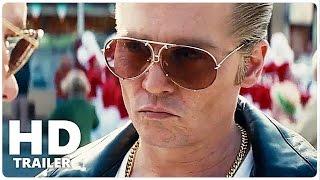 Black Mass Trailer 1 + 2 German Deutsch | Johnny Depp Film 2015