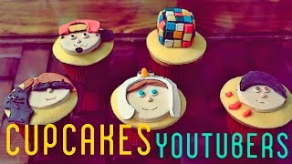 Cupcakes Youtubers | RUBIUS, JUANPA ZURITA, SEBASTIAN VILLALOBOS & SCREAMAU