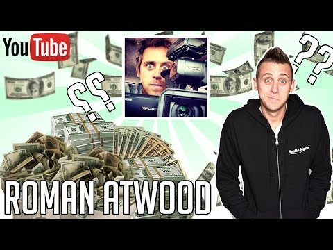 HOW MUCH MONEY DOES ROMAN ATWOOD MAKE ON YOUTUBE 2016 YouTube Earnings
