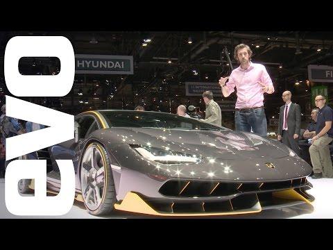 Lamborghini Centenario preview. See new carbon fibre supercar in detail   evo MOTOR SHOWS