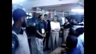 US Ambassador Marcia Bernicat at Banani Bidyaniketan School and College polling station 2