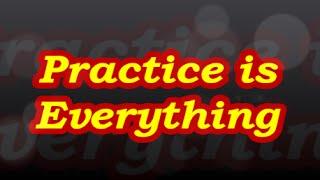 WhatsApp Voice Note - 64    Practice is Everything   Pandit Avadhkishor Pandey