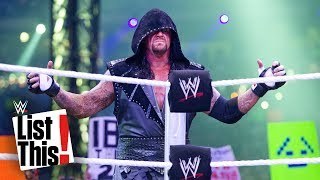 5 records The Undertaker owns: WWE List This!