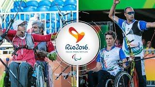 Ir Iran v Italy – recurve mixed team semifinal   Rio 2016 Paralympics