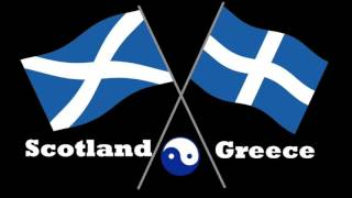 Scottish and Greek Music   Greek support to a free Scotland