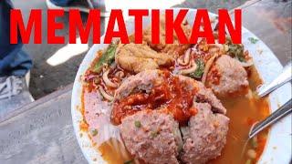 MAKAN CABE PAKAI BAKSO!! BAKSO KARMEL LEMBANG - BANDUNG