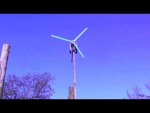 Generador Eólico Casero 2 Chile