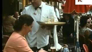 1960s, 1970s Paris Cafes and Cars