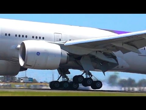 AWESOME Late Morning Heavy Action ● Melbourne Airport Plane Spotting