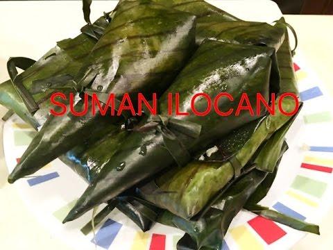 How to Make Suman (Suman Ilocano)