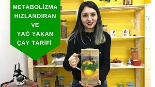 Metabolizma Hızlandıran ve Yağ Yakıcı Çay Tarifi - Diyetisyen Ayşe Tuğba Şengel
