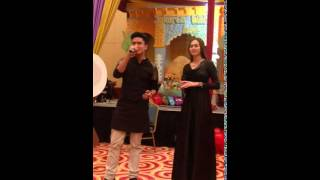 Widhi Arjuna feat Aura kasih