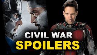 Captain America Civil War Ant-Man - SPOILERS, reaction & breakdown - Beyond The Trailer