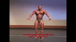 Amazing ROBOT Dance By World's Top Body Builder 2016!