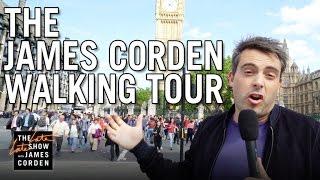 James Corden Walking Tour of London