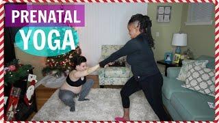 Prenatal Yoga Challenge | Pregnant w/ Twins